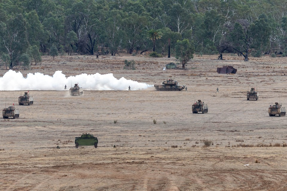 L'exercice annuel Chong Ju des armées australiennes 59862210