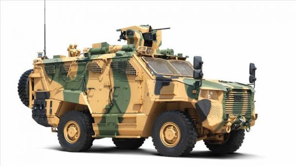 le nouveau blindé « Vuran » pour l'armée turque 5d1f5710