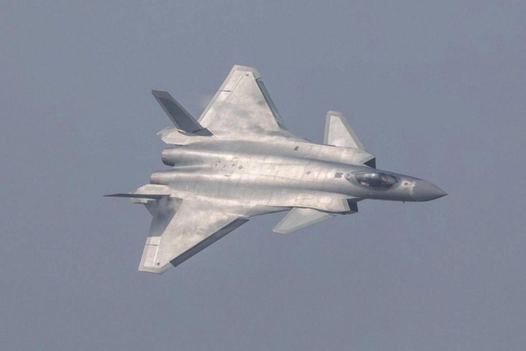 Le Chengdu J-20 chinois encore avec un moteur... russe 62756014