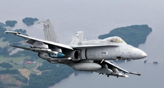 La Finlande veut remplacer ses F/A-18 Hornet 66432410
