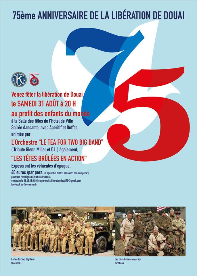 Commémoration des 75 ans de la libération de Douai 70284210