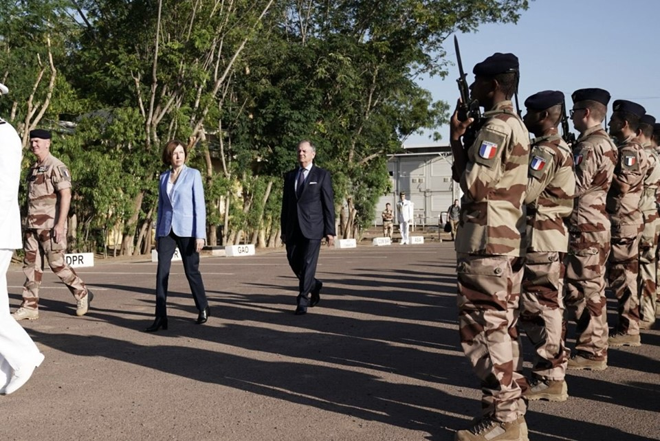 Florence Parly, la ministre des Armées, au Sahel 74376310