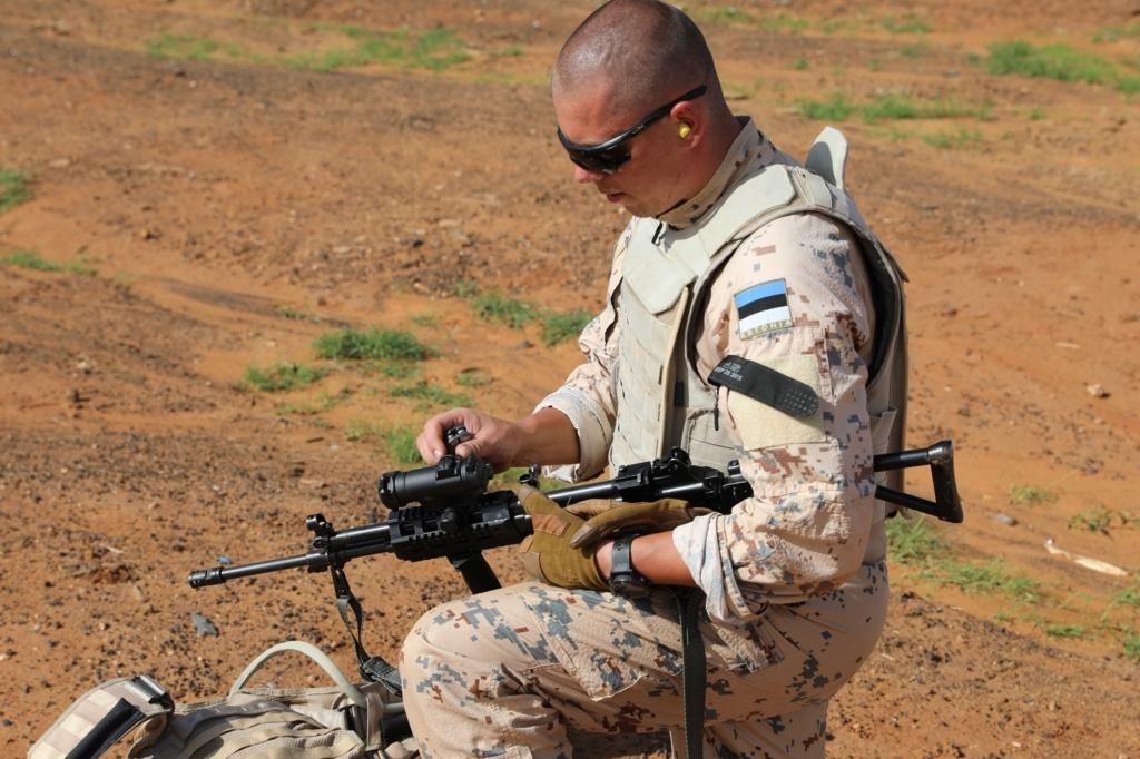 50 soldats estoniens auprès de la France au Mali 7j7a0910