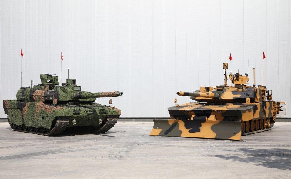 Des chars turcs Altay pour le Qatar 7kguxg10