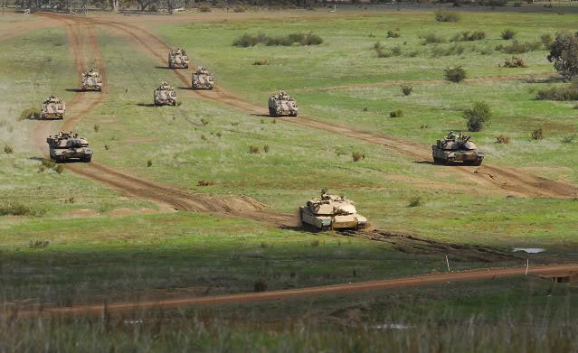L'exercice annuel Chong Ju des armées australiennes 84210