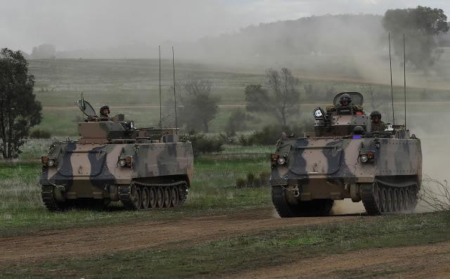 L'exercice annuel Chong Ju des armées australiennes 86910
