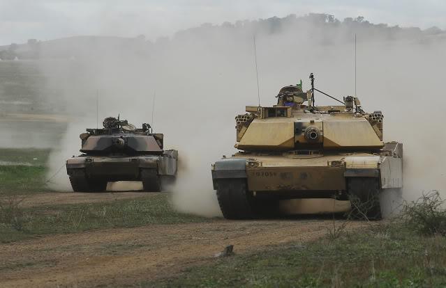 L'exercice annuel Chong Ju des armées australiennes 87010