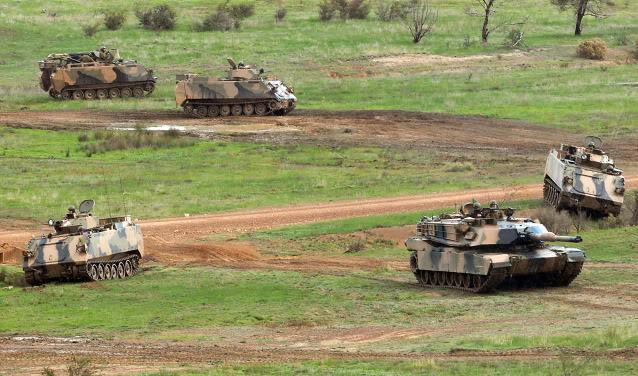 L'exercice annuel Chong Ju des armées australiennes 87210