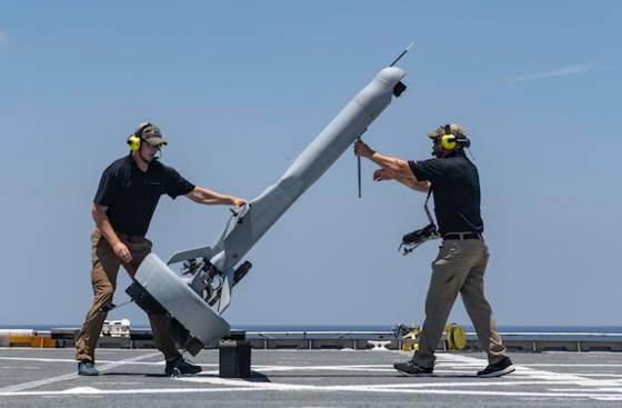 L'US Navy teste le V-BAT, l'impressionnant drone militaire 89eaab10