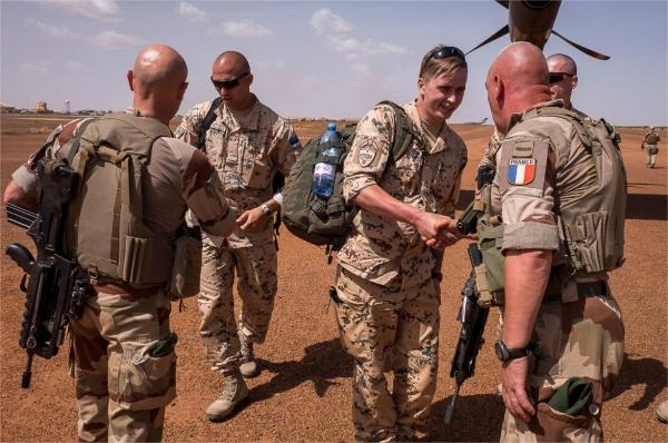 50 soldats estoniens auprès de la France au Mali 92164410