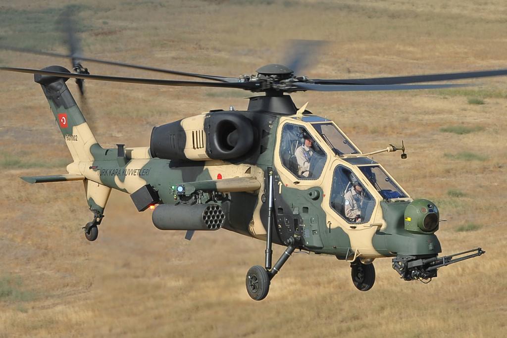 Des hélicoptères de combat turcs pour le Pakistan A129-111