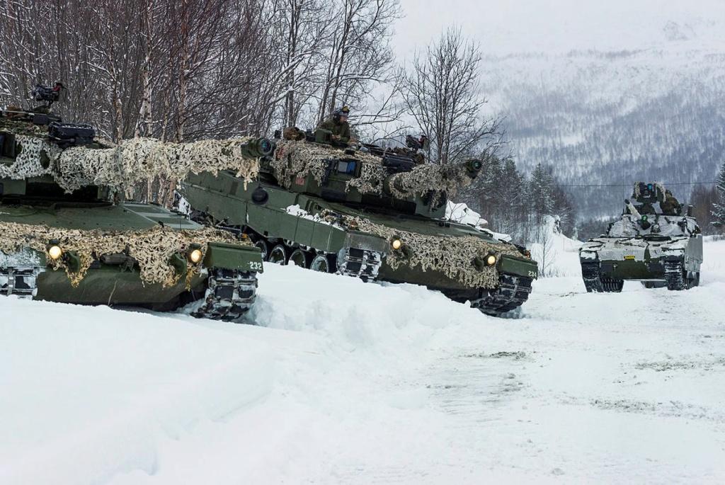 Vers un remplaçant pour les Leopard norvégiens A88da610