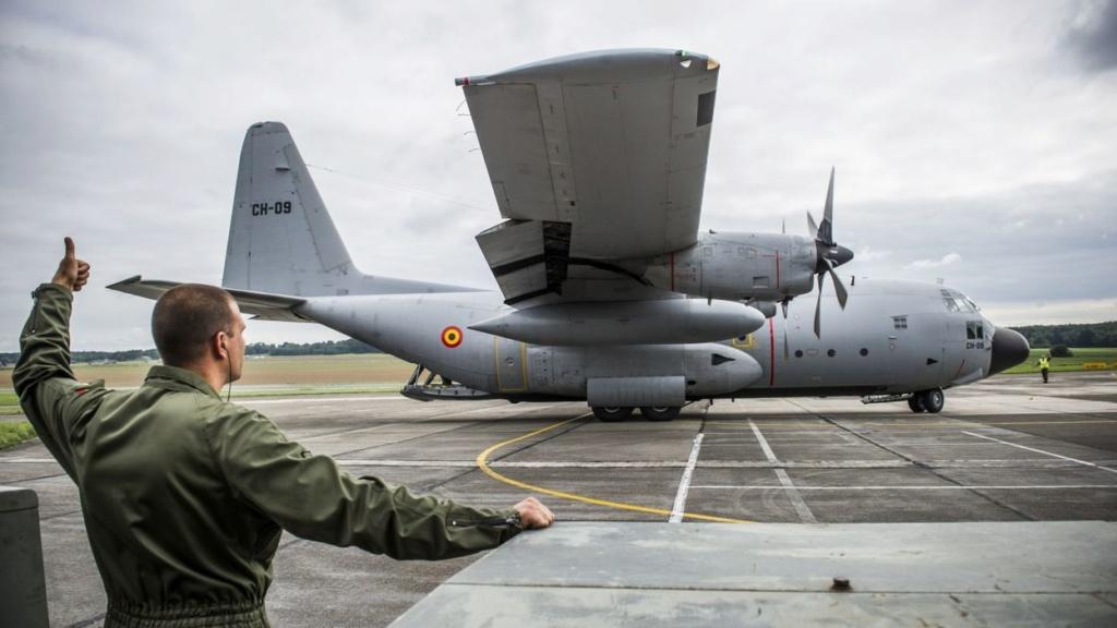 Le C-130 belge de la MINUSMA en appui temporaire à Barkhane A9d34f10