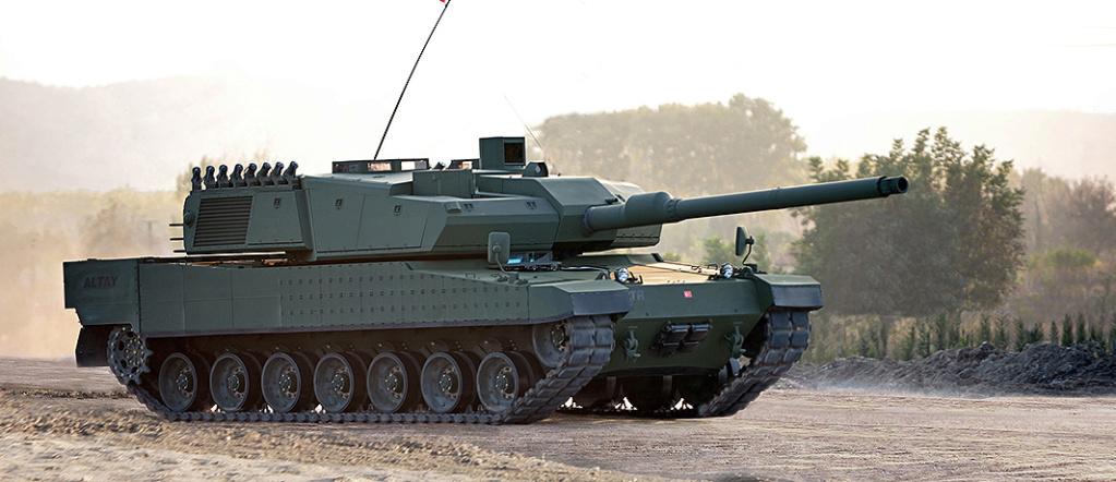 Des chars turcs Altay pour le Qatar Altay-10