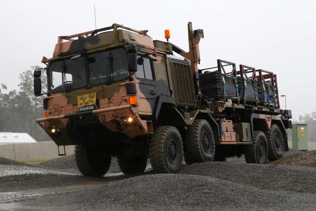 Des camions Rheinmetall - MAN pour l'armée australienne An4c1b10