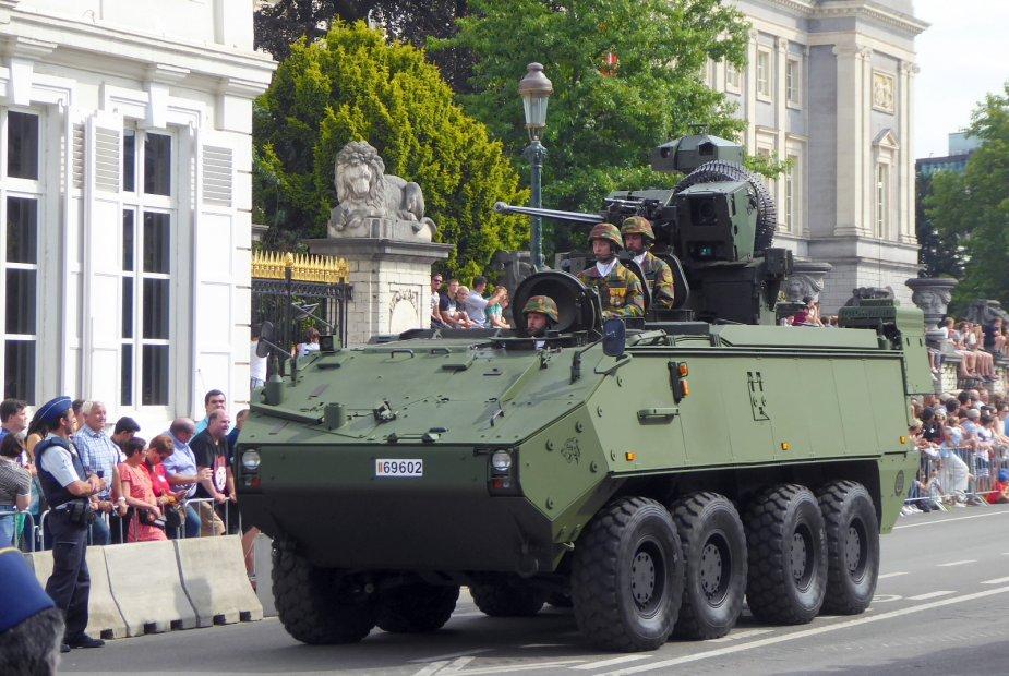 Défilé militaire 2019 de la fête nationale belge 21 juillet Analys10