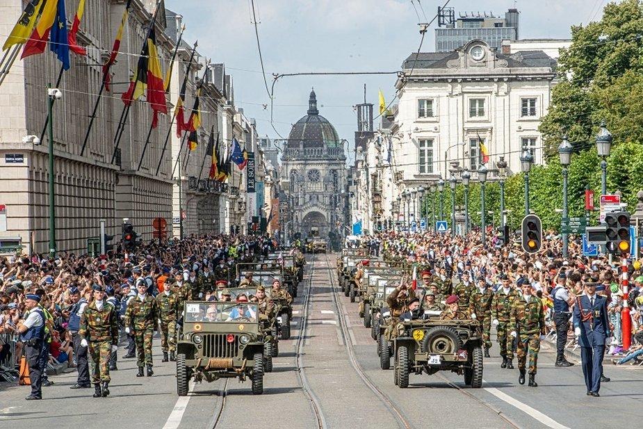 Défilé militaire 2019 de la fête nationale belge 21 juillet Analys11