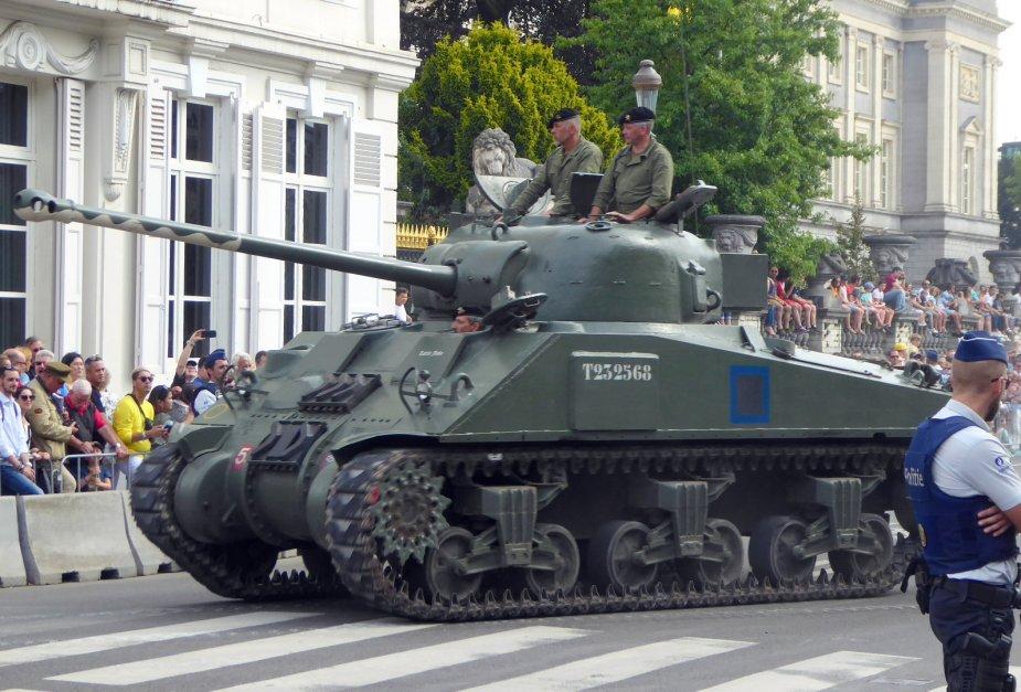 Défilé militaire 2019 de la fête nationale belge 21 juillet Analys12