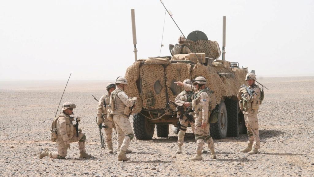 50 soldats estoniens auprès de la France au Mali Armour10