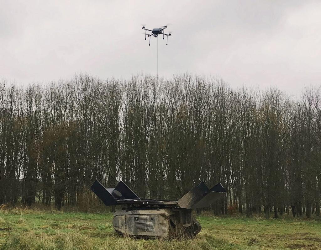 L'unité estonienne va déployer des drones terrestres Awe10