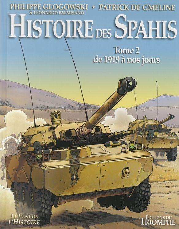 Histoire des Spahis - tomes 1 et 2 Bd-his10