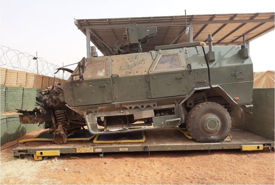Deux soldats belges de la MINUSMA blessés par un IED Belgia11
