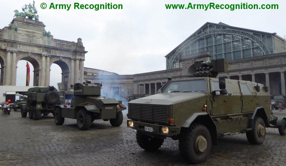 Le convoi belge de l'anniversaire de la libération Belgiu11