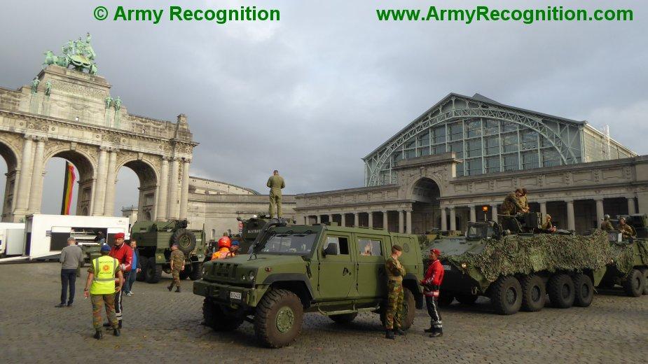 Le convoi belge de l'anniversaire de la libération Belgiu12