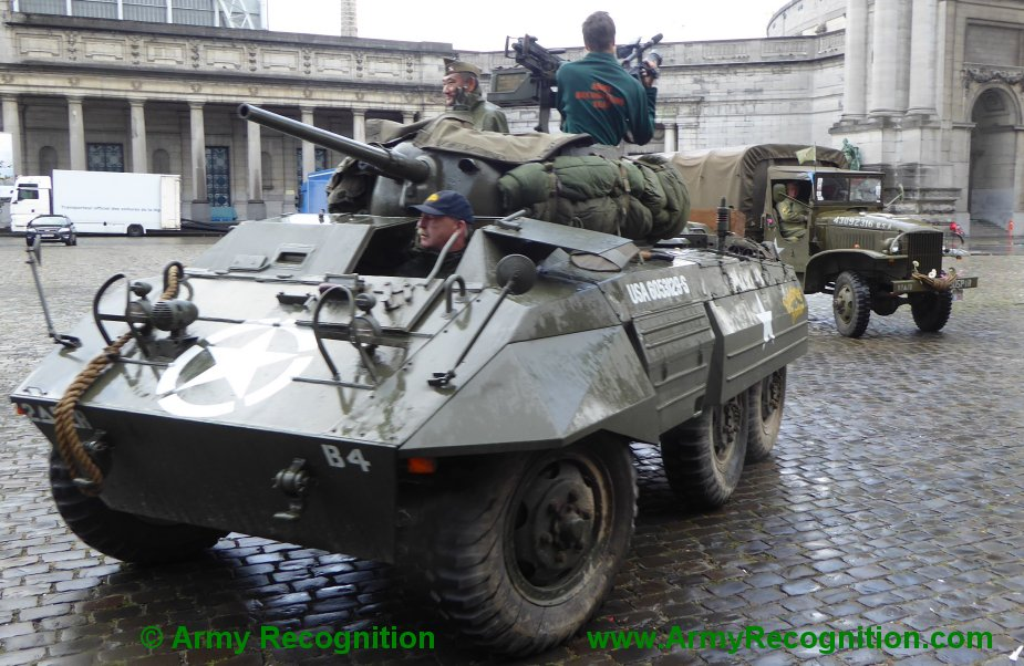 Le convoi belge de l'anniversaire de la libération Belgiu13