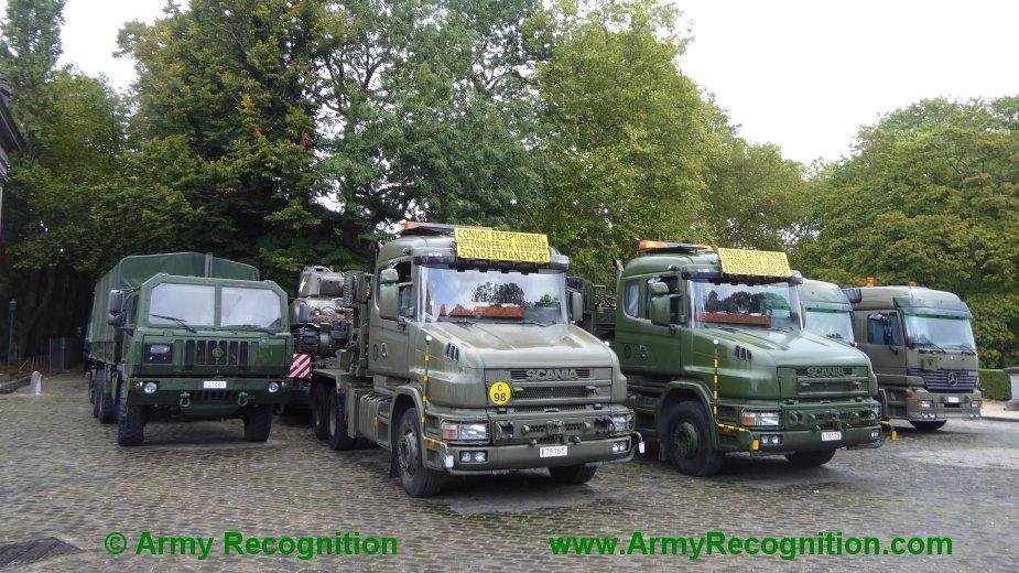 Le convoi belge de l'anniversaire de la libération Belgiu15