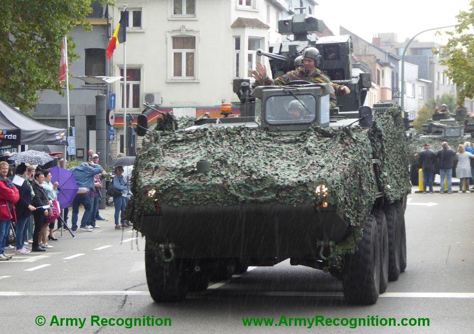 Le convoi belge de l'anniversaire de la libération Belgiu16