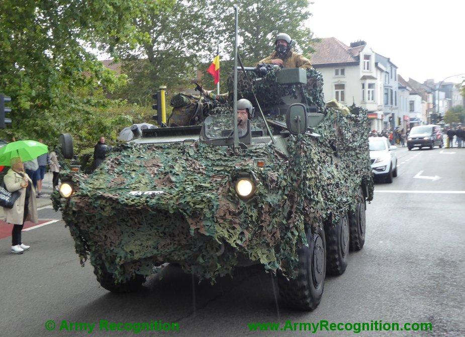 Le convoi belge de l'anniversaire de la libération Belgiu17