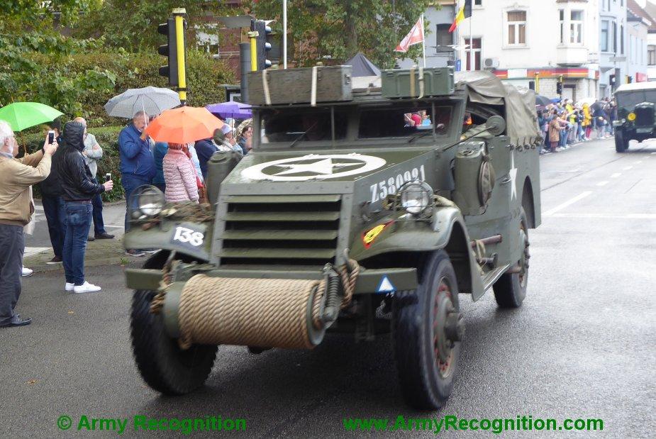 Le convoi belge de l'anniversaire de la libération Belgiu18