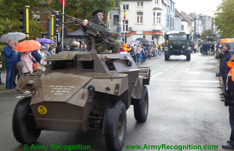 Le convoi belge de l'anniversaire de la libération Belgiu19