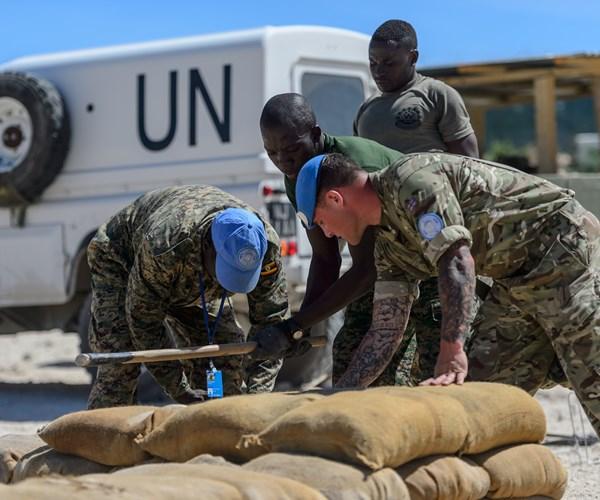 Déploiment de 250 casques bleus britanniques au Mali Britis11