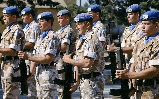 Déploiment de 250 casques bleus britanniques au Mali Britis12