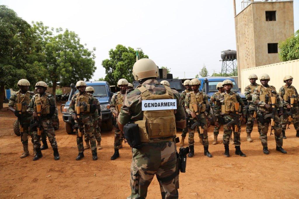 La Gendarmerie pour former les forces de sécurité du Mali ? C_ijpm10