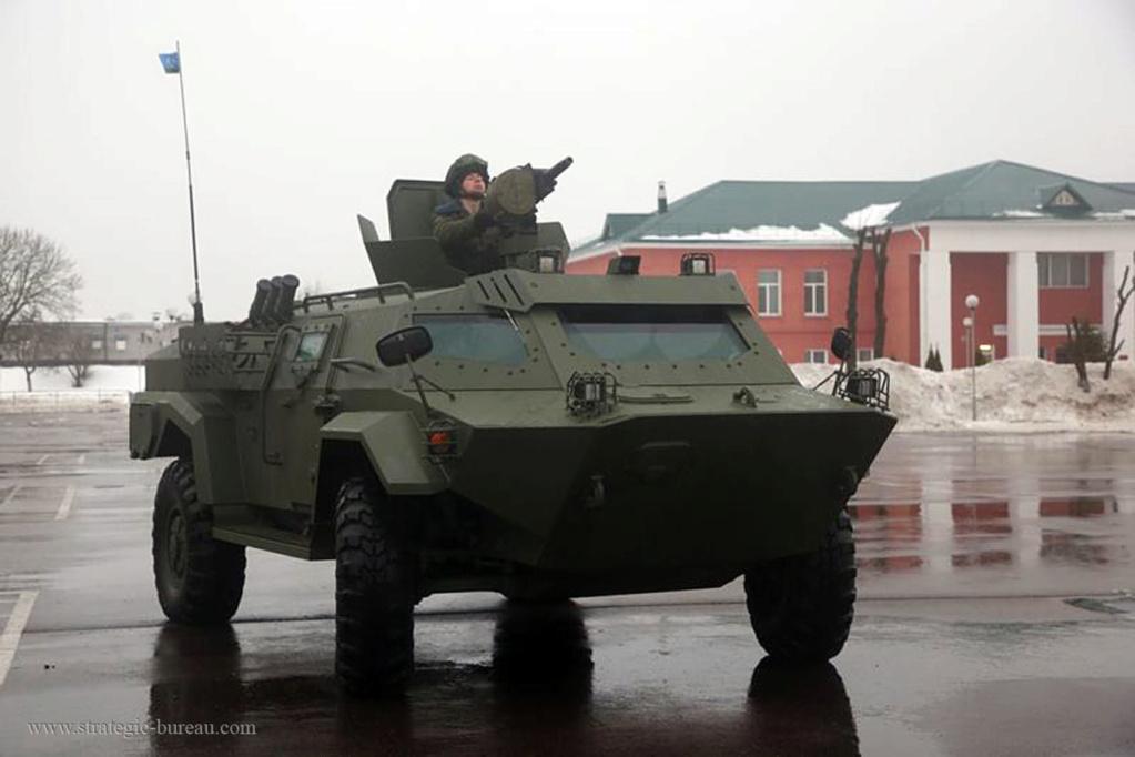 Des véhicules blindés Caïman pour l'armée biélorusse Caiman10