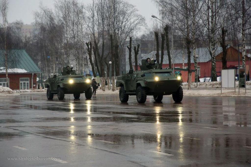 Des véhicules blindés Caïman pour l'armée biélorusse Caiman11