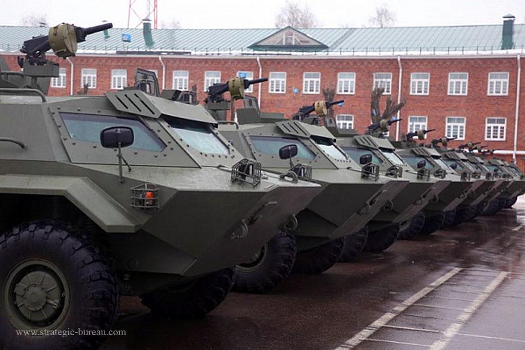 Des véhicules blindés Caïman pour l'armée biélorusse Caiman12