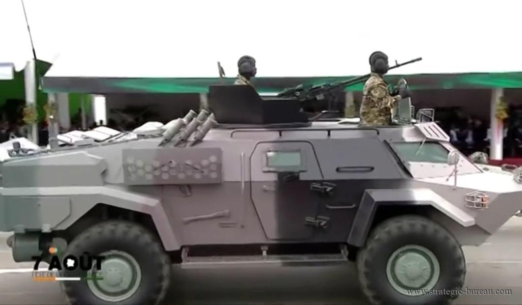 Des véhicules blindés Caïman pour l'armée biélorusse Caiman14