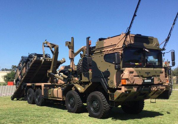 Des camions Rheinmetall - MAN pour l'armée australienne Cfaawr10