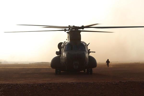 En décembre 2 hélicoptères lourds danois pour Barkhane Ch47d-10
