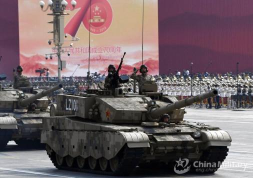 Défilé militaire chinois du 70e anniversaire à Pékin Chine_10