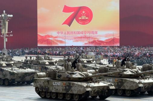 Défilé militaire chinois du 70e anniversaire à Pékin Chine_11