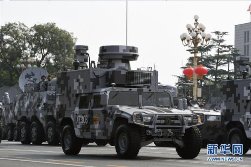 Défilé militaire chinois du 70e anniversaire à Pékin Chine_14