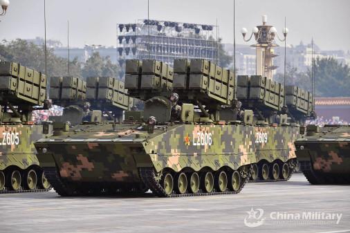 Défilé militaire chinois du 70e anniversaire à Pékin Chine_18