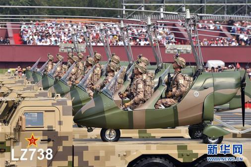Défilé militaire chinois du 70e anniversaire à Pékin Chine_21