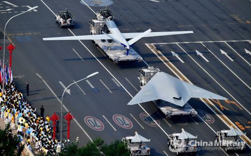 Défilé militaire chinois du 70e anniversaire à Pékin Chine_23