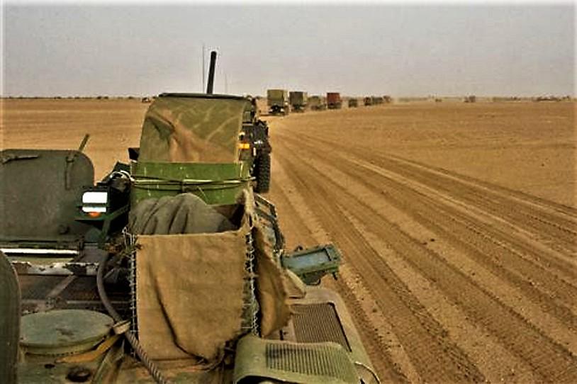 Convoi logistique entre Gao et Niamey Convoi11